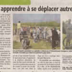 Article du « Pays Gessien » du 22 avril 2011