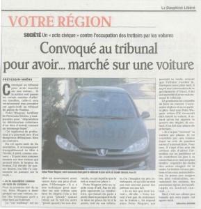 Dauphiné Libéré du 19 janvier 2012