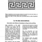 Article dans le journal de Collex-Bossy de juin 2012