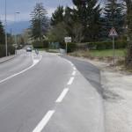 Ferney: prolongation de la bande cyclable vers Prévessin