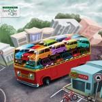 Affiche de promotion pour le bus