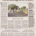 Article dans le Dauphiné libéré du 6 novembre 2012