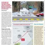 Article dans le «24 heures»: Piste cyclable et Vélopass à Divonne