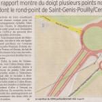 Article sur notre comptage dans le Dauphiné, avec rappel en page de titre