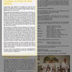 Article dans Ornex Infos de juillet à septembre 2013