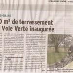 Inauguration de la piste cyclable de Divonne