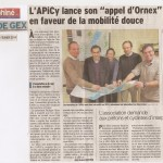 Article sur notre AG dans le Dauphiné