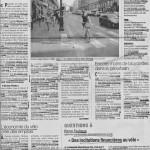 Article sur la pratique du vélo utilitaire dans le Dauphiné libéré