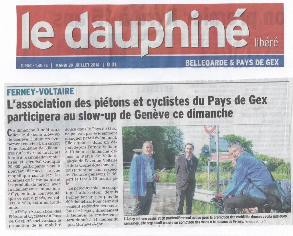 APiCy slowUp de Genève 2014