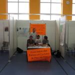 Notre stand au forum des associations à Ferney
