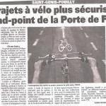 Un article sur le rond-point de France dans le Pays Gessien