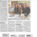 Un grand article du Dauphiné sur notre AG