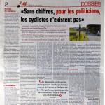 Article sur le comptage dans Hebdo01