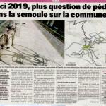 Un nouvel article dans le Gessien sur les aménagements cyclables à Gex