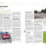 Deux articles présentent les dernières modifications du code de la route pour les cyclistes et piétons