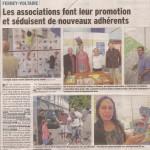 Article dans le Dauphiné sur le forum des associations (avec photo de notre stand)