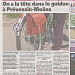 Un article dans le Gessien sur les aménagements prévus à Prévessin-Moëns