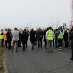 Lancement des travaux de la piste cyclable route de l'Europe