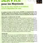 Vélos en libre-service à Meyrin