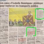 La maire de Sauvergny annonce une voie verte et la construction d'un trottoir