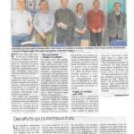 Un article sur notre AG dans le Dauphiné