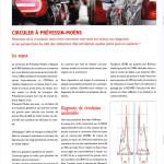 Un article sur la mobilité à Prévessin, dans le journal communal