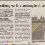 Route de Brétigny à Ornex: améliorations en vue pour les piétons et cyclistes