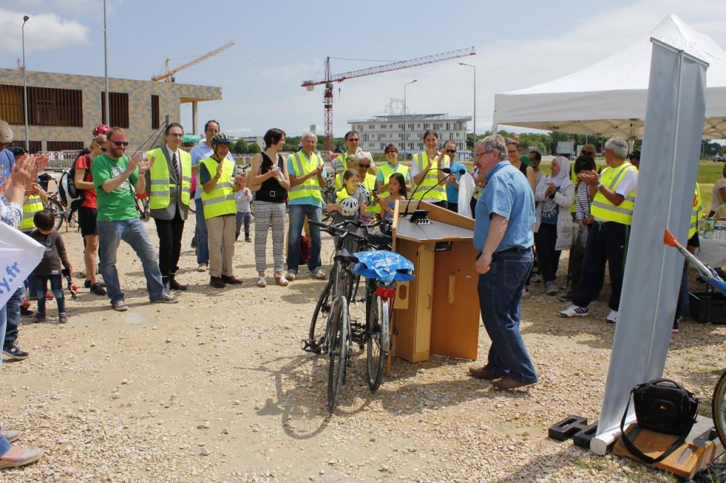 Discours d'accueil du maire de Meyrin.