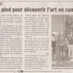Un article du Dauphiné sur notre dernière balade