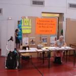 Notre stand au forum des associations de Prévessin