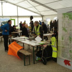 Stand au marché de la bio diversité à Ferney le 9 octobre