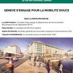 Conférence mercredi sur la mobilité douce à Genève