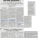 Un article sur la mobilité douce dans le Gessien