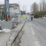Avenue de Vessy à Ferney-Voltaire: une belle série de points noirs cyclistes et piétons