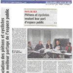 Un grand article sur notre association dans le Dauphiné Libéré