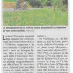 La région Rhône-Alpes-Auvergne veut développer les véloroutes