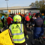 Défilé vélo à l'ONU: quelques images de la parade multiculturelle à Genève