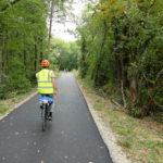 Inauguration de la piste cyclable entre Grilly et Divonne-les-Bains