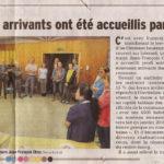 Un article du Dauphiné sur la soirée des nouveaux arrivants à Ornex lors de laquelle nous avons présenté APiCy