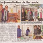 Un article du Dauphiné sur la journée Bio à Ferney lors de laquelle nous avions un stand