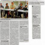 Un article dans le Dauphiné sur notre AG