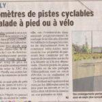 Deux articles sur le développement des aménagements cyclables à Saint-Genis-Pouilly