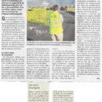 Un article dans le Dauphiné sur notre action à Ferney-Voltaire