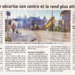Grilly aménage son centre ville pour les piétons et cyclistes