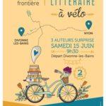 Ce samedi 15 juin, participez à 2 balades vélo et littérature !