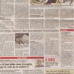 Un article sur le vélo électrique et sur le vélo et les municipales