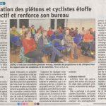 Un article du Dauphiné sur notre assemblée générale