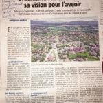 Article du Pays Gessien sur les projets d'urbanisme à Prévessin