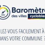 Participez au baromètre des villes cyclables