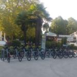 Divonne : inauguration de la première station de vélos électriques en libre-service
